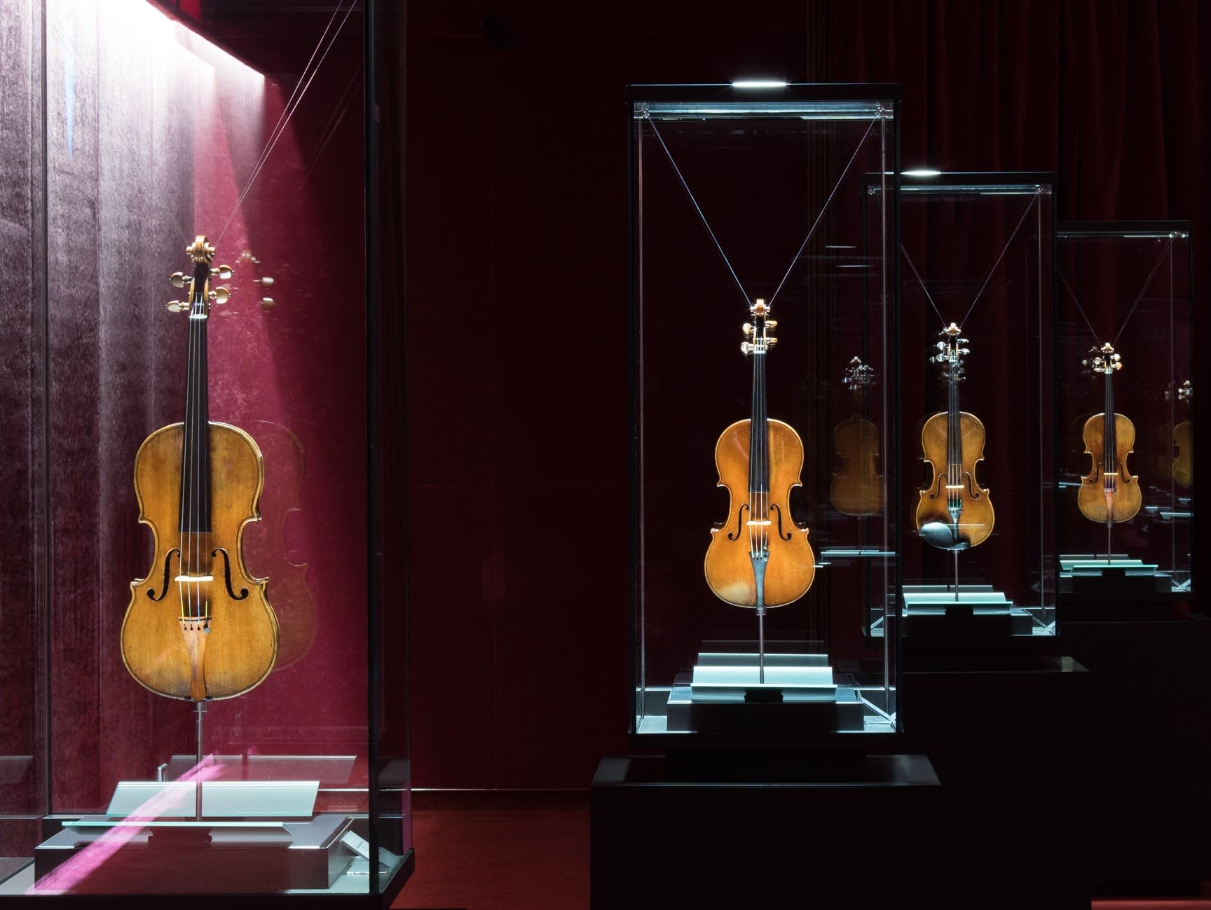 The Violin Museum's most prized instruments