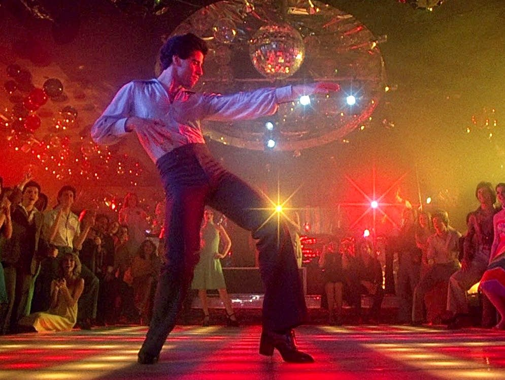 John Travolta in 'Saturday Night Fever'