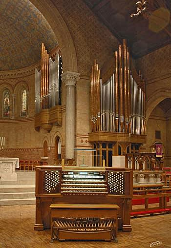 2003 Berghaus organ at Saint Stephen's Episcopal Church, Wilkes-Barre, PA