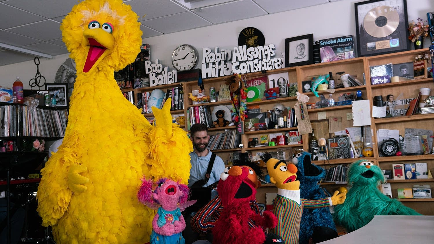 Sesame Street 50 Years and Counting Surprise Plush Big Bird