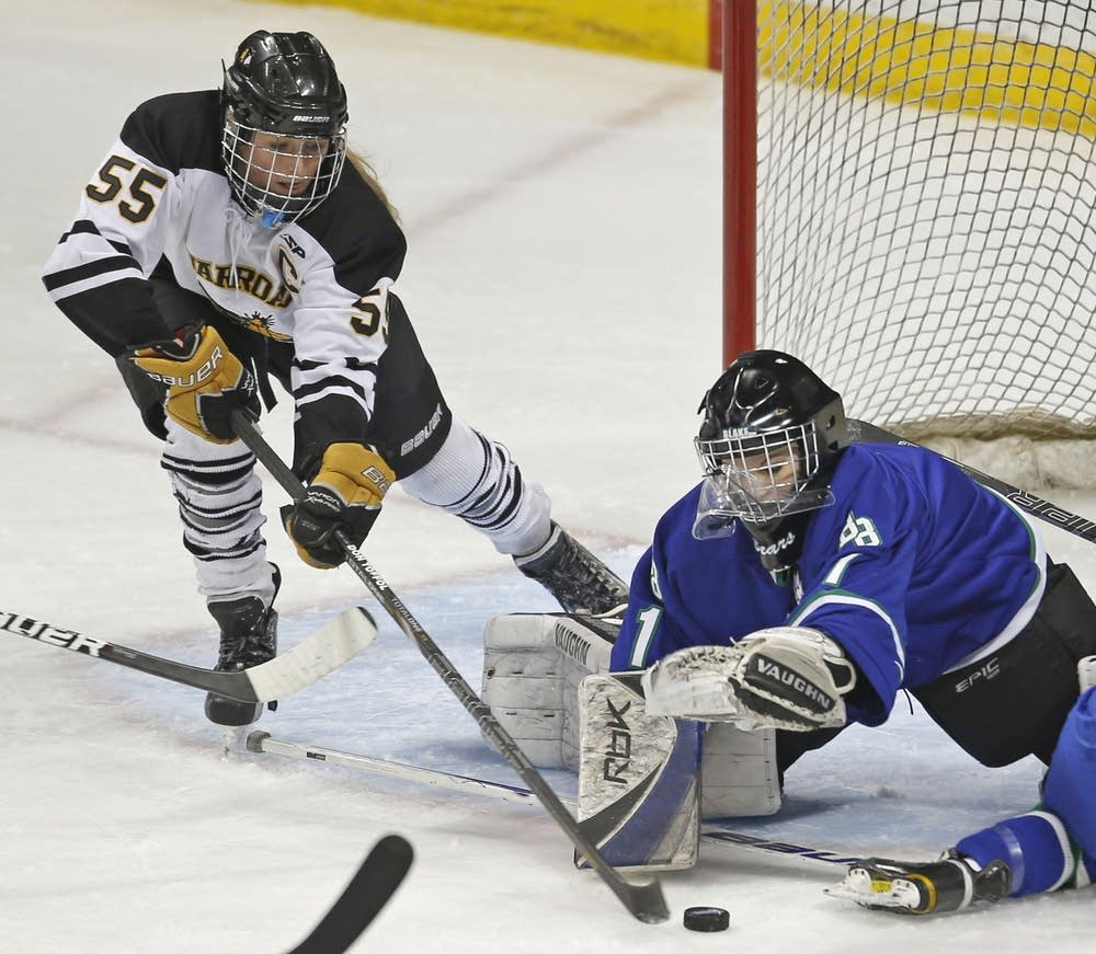 Blake vs. Warroad