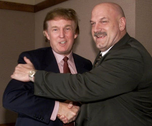 Donald Trump and Jesse Ventura