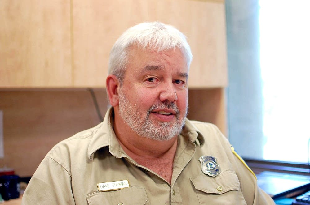 Dave Thomas, DNR regional forest manager