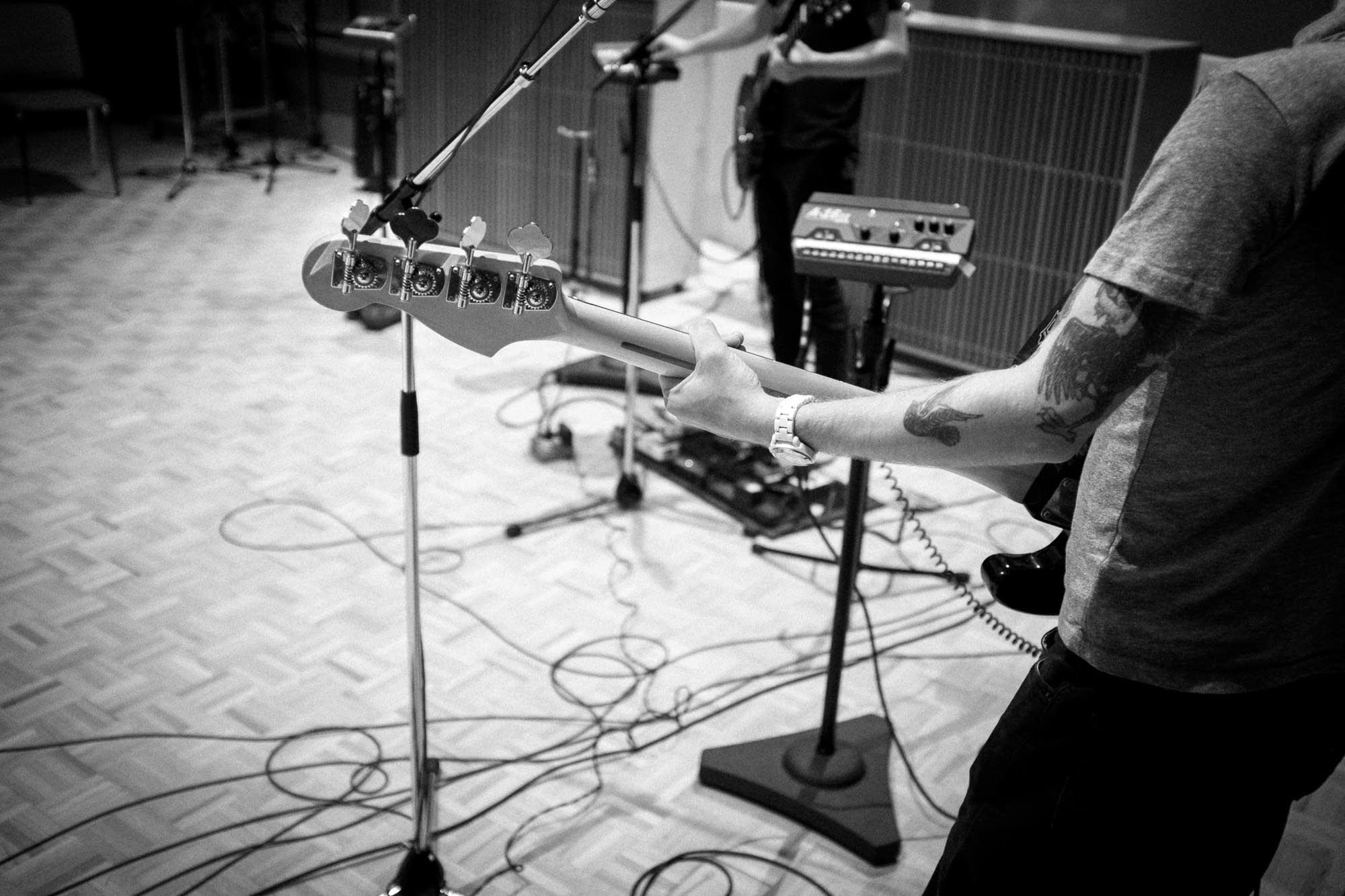 Desaparecidos, in studio
