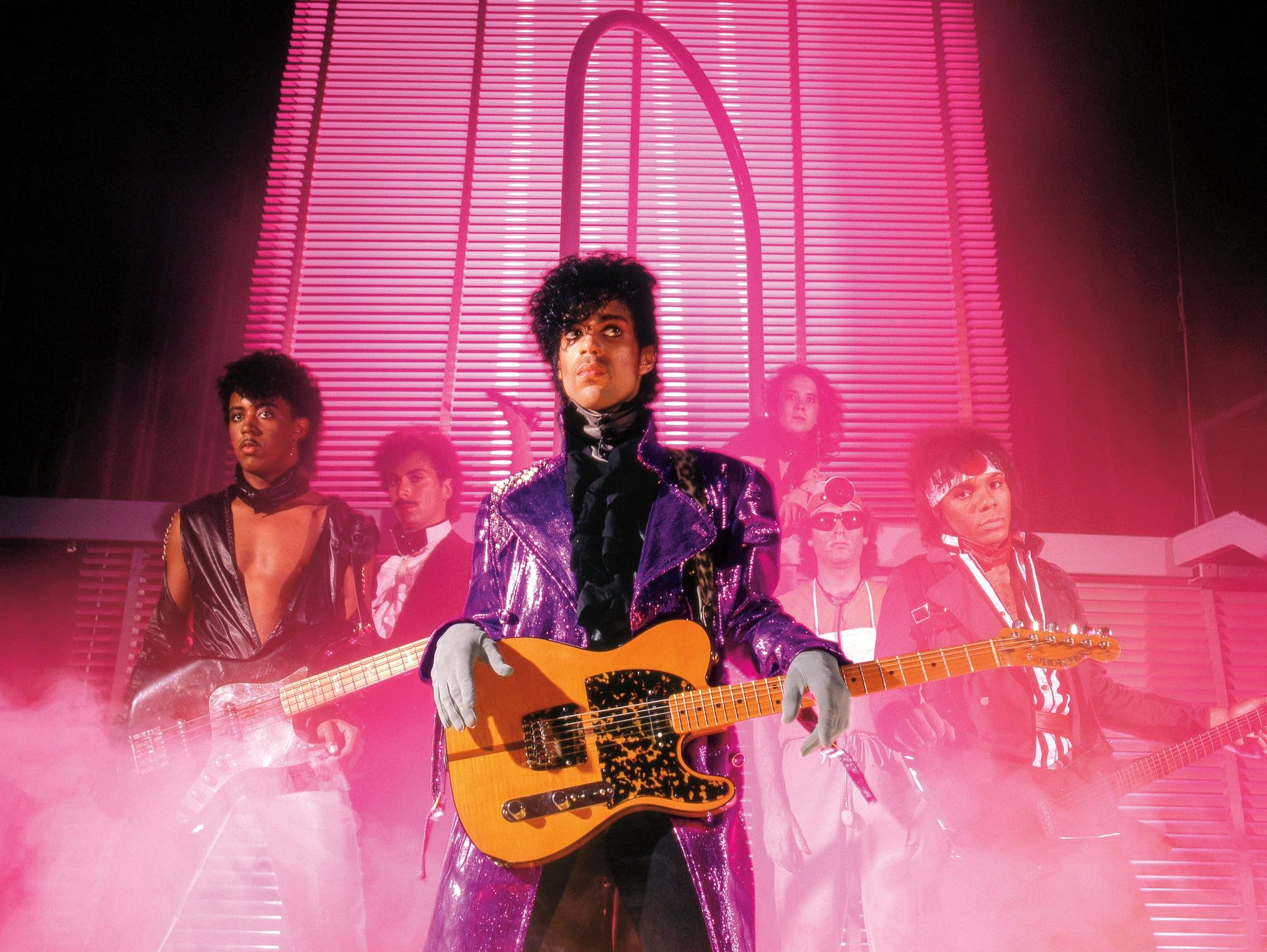 Prince and the Revolution promo photo