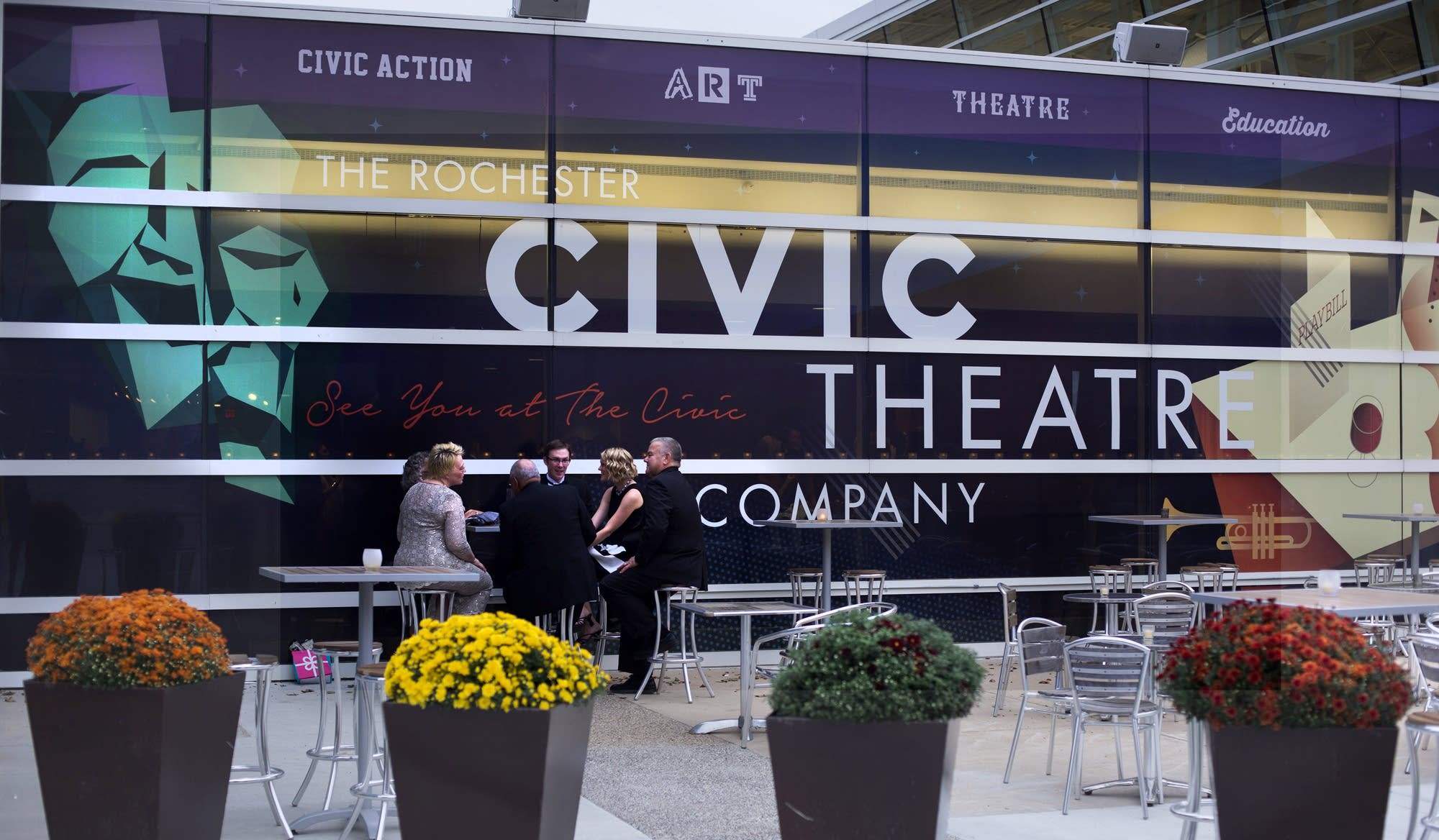 The Rochester Civic Theatre benefit on Sept. 24, 2016.