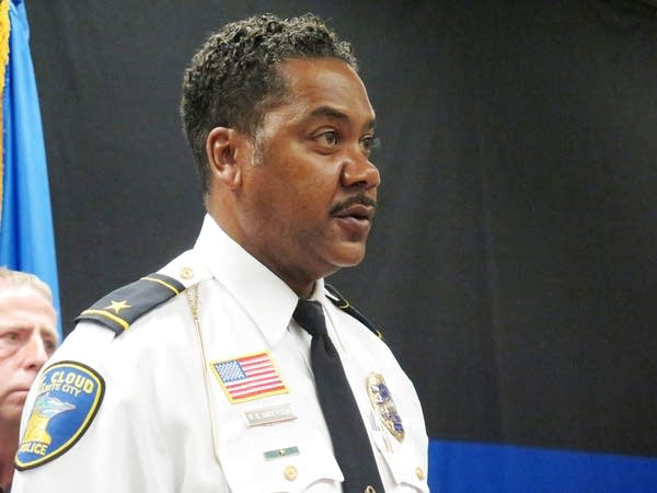 St. Cloud Police Chief William Blair Anderson