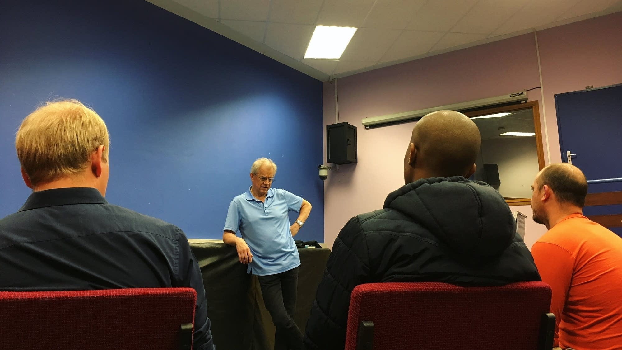 Osmo Vanska speaks with aspiring South African Composers.