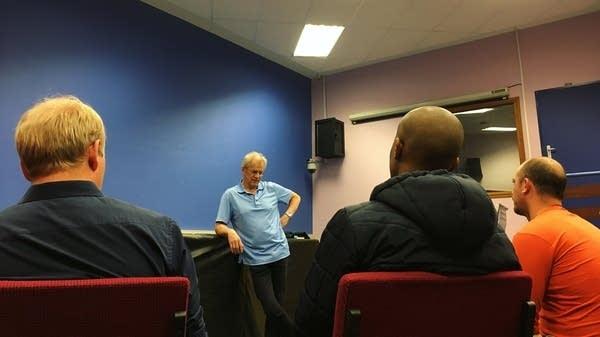 Osmo Vanska speaks with aspiring South African Composers.