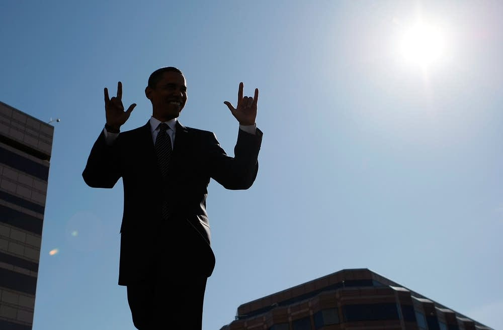 Obama campaigns in North Carolina