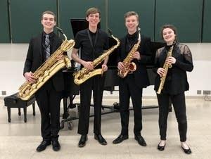 Radius Saxophone Quartet