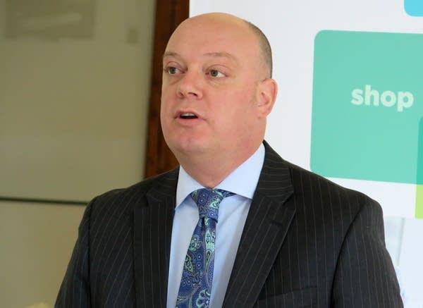 MNsure CEO  Scott Leitz
