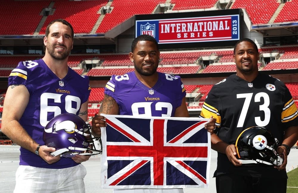 Jared Allen, Kevin Williams, Ramon Foster