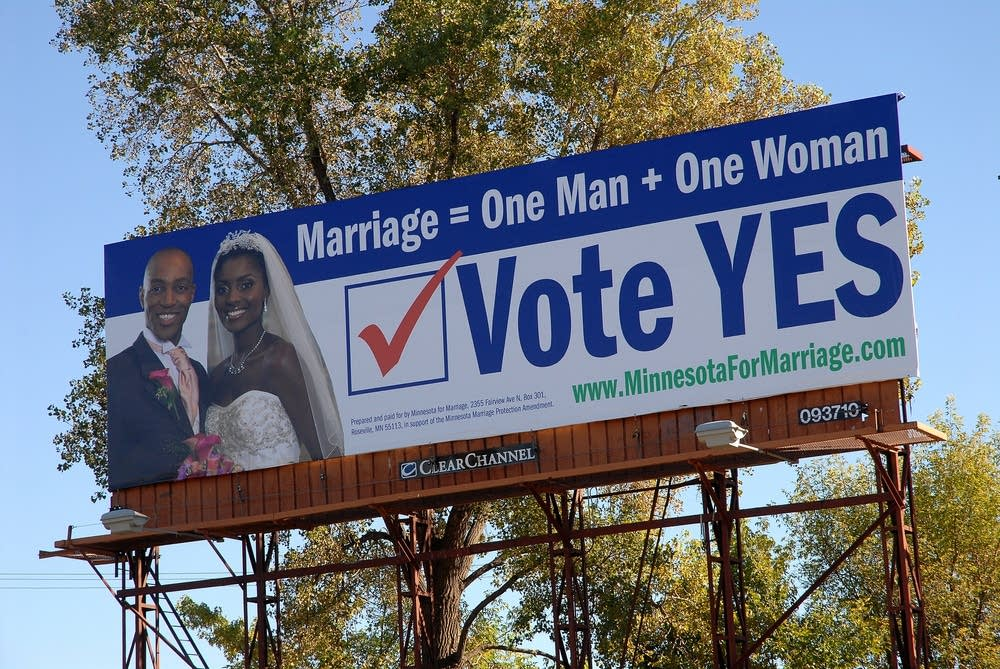 A Minnesota for Marriage billboard