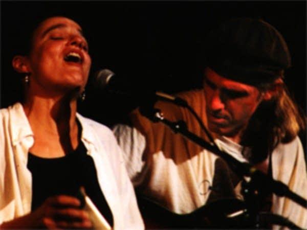 Karen Savoca and Pete Heitzman