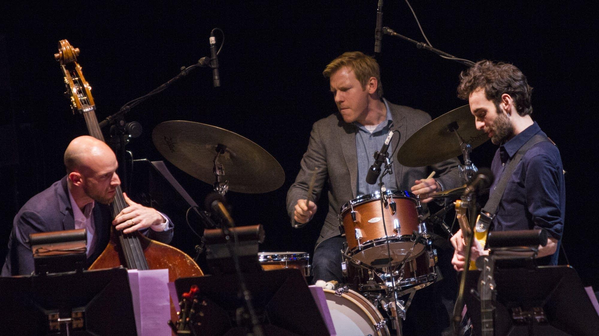 """The Ramble"" -- Alan Hampton, Ted Poor, and Julian Lage"