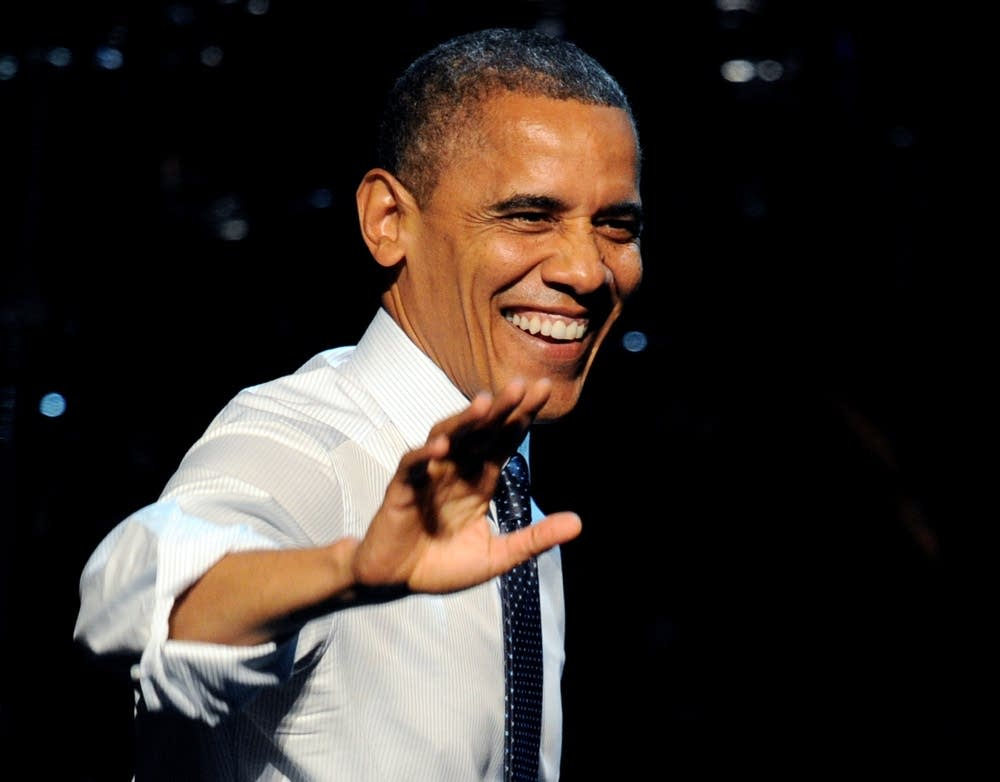 Obama at a California fundrasier