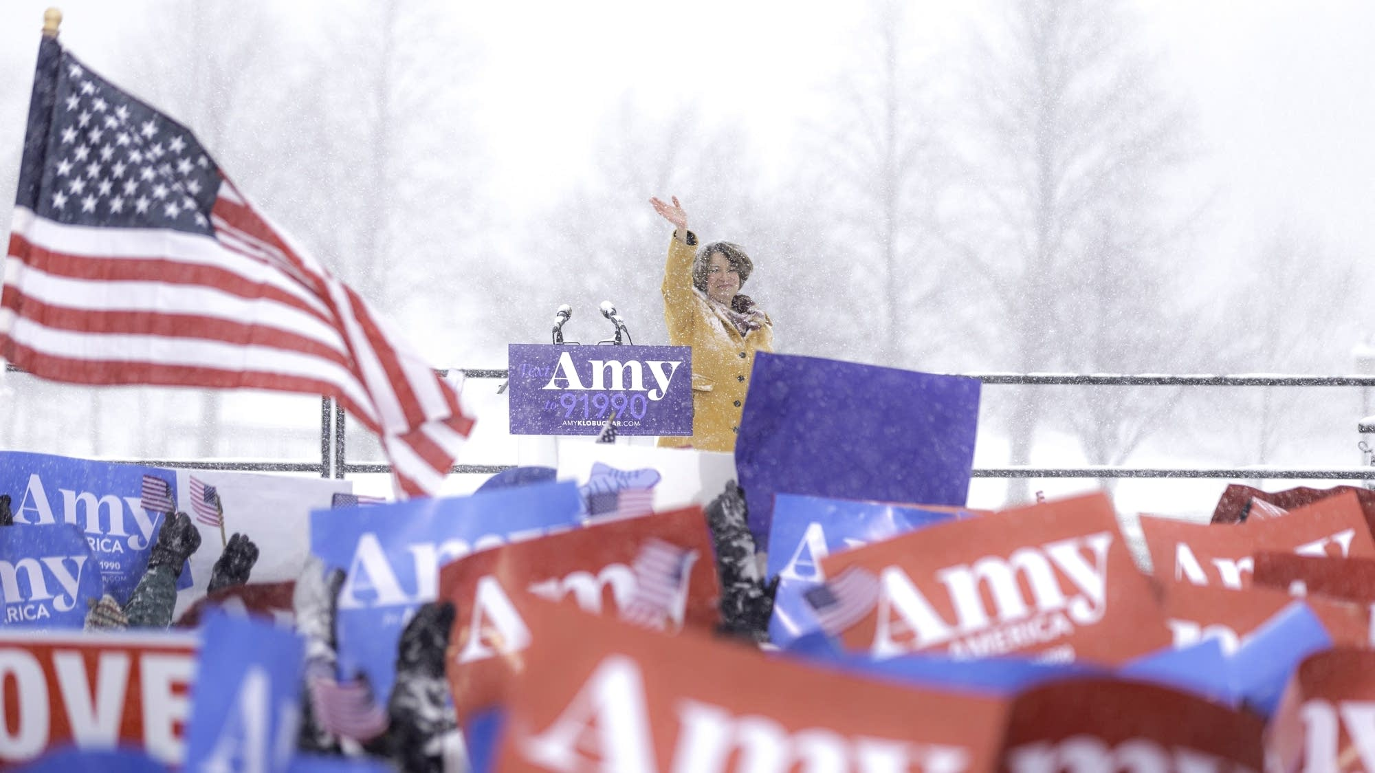 Amy Klobuchar announcement