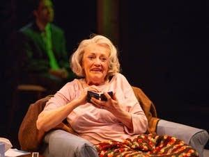 "Candace Barrett Birk stars in ""Marjorie Prime."""