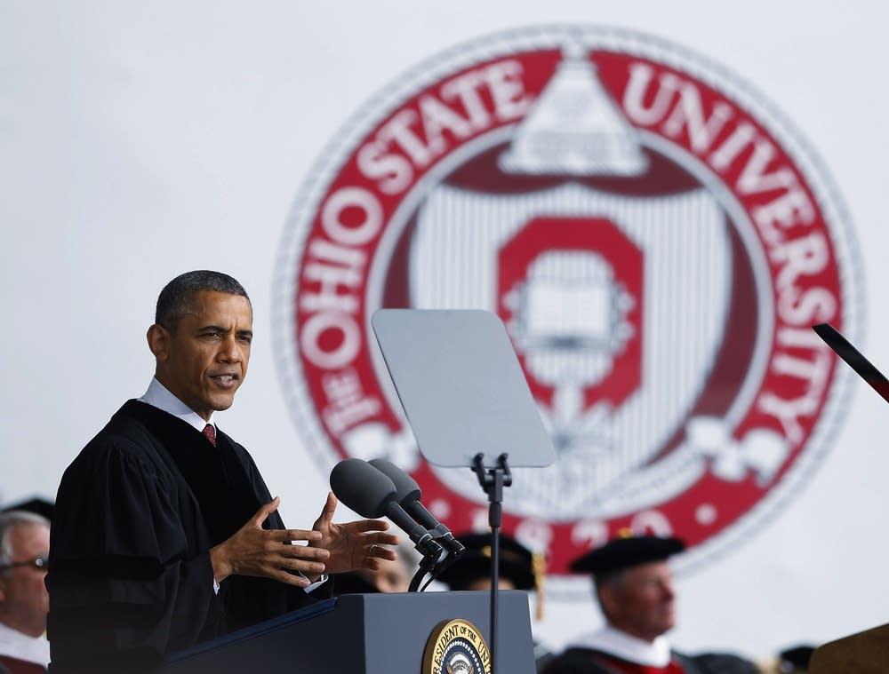 Obama at Ohio State University