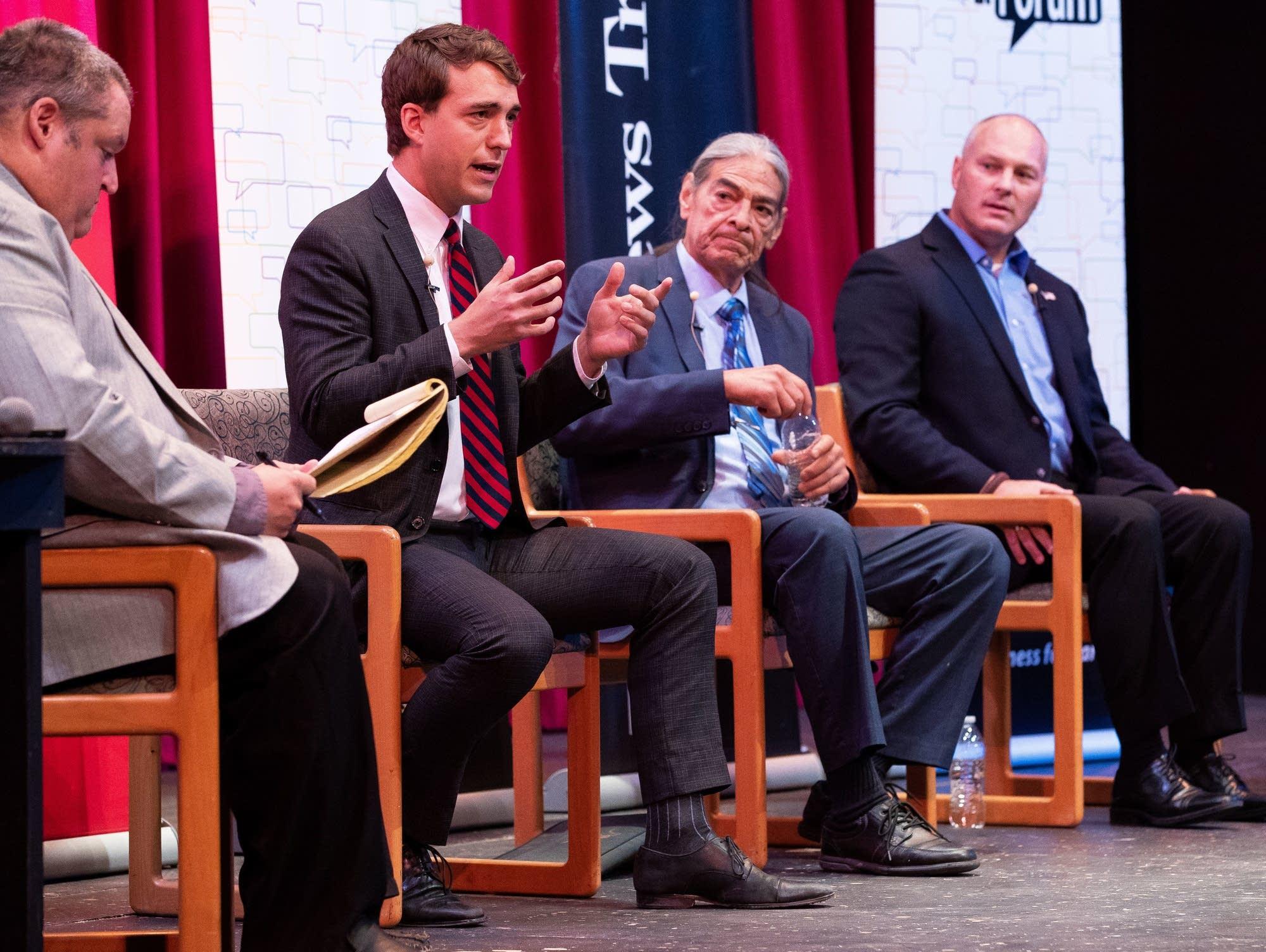 8th District debate