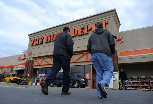 A Home Depot store in Silver Spring, Maryland