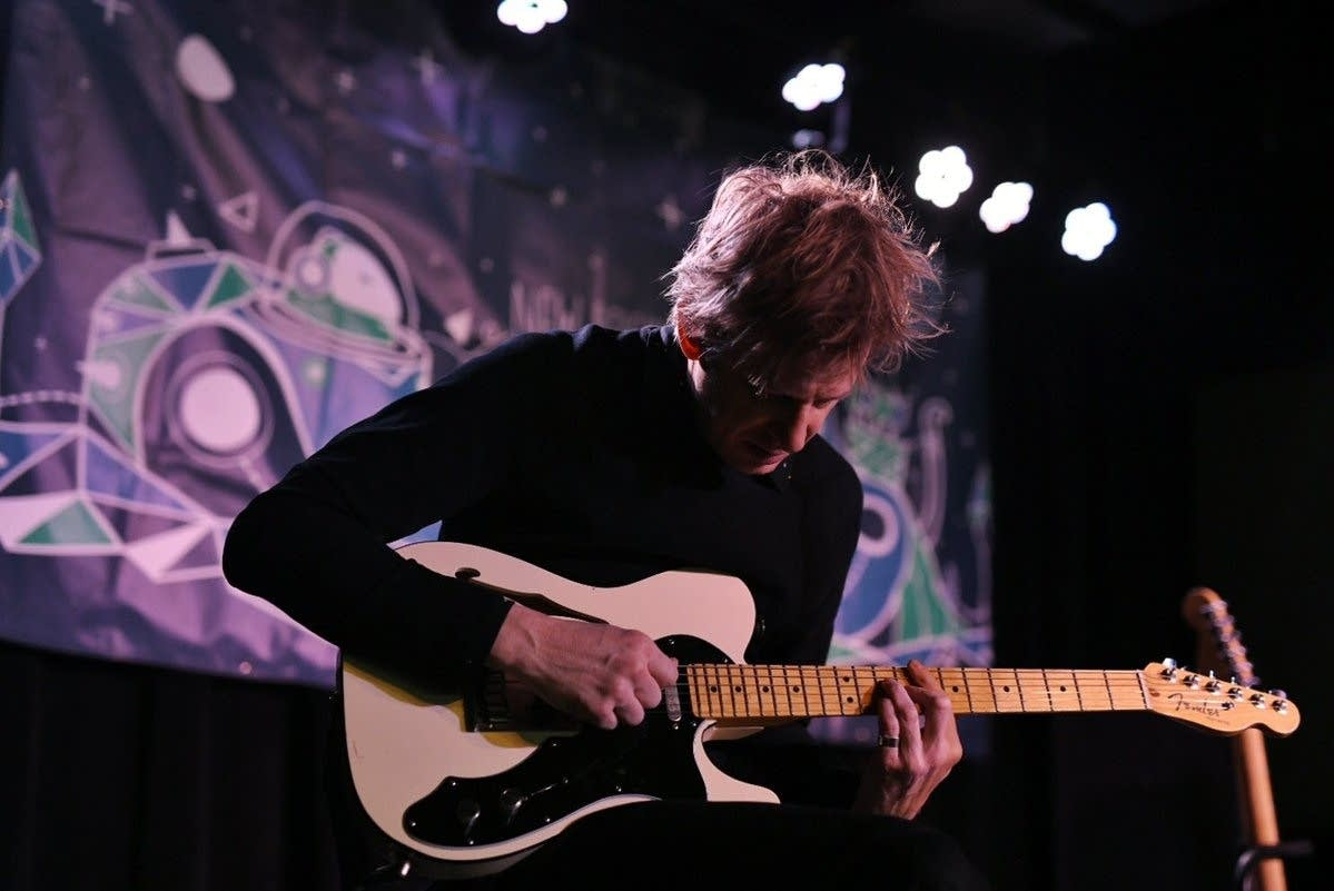 Britt Daniel of Spoon at The Current's MicroShow
