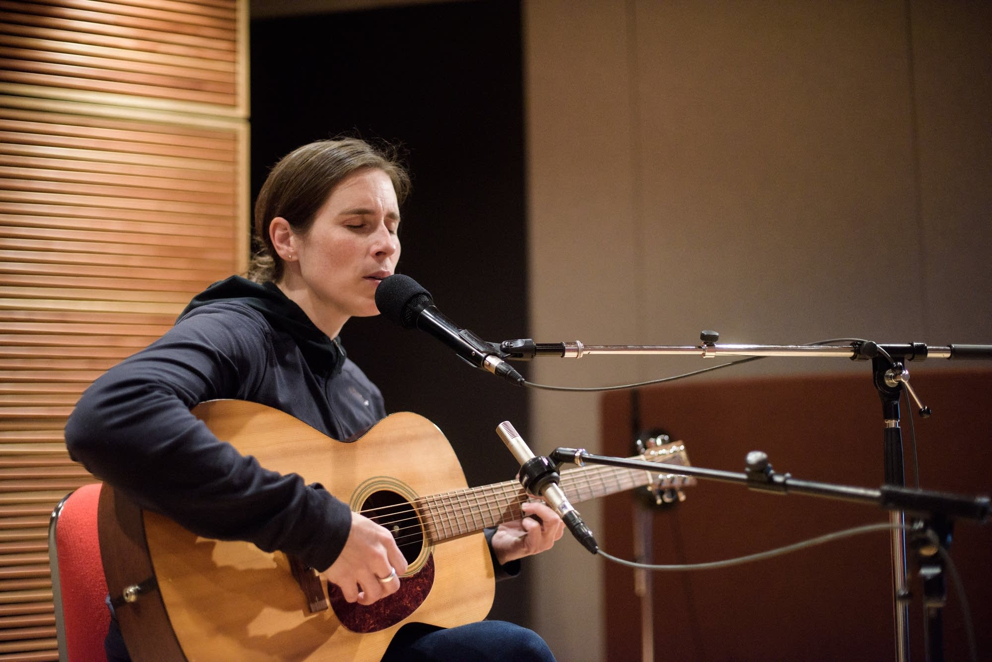 Rose Cousins performs in the Radio Heartland studio | The Current