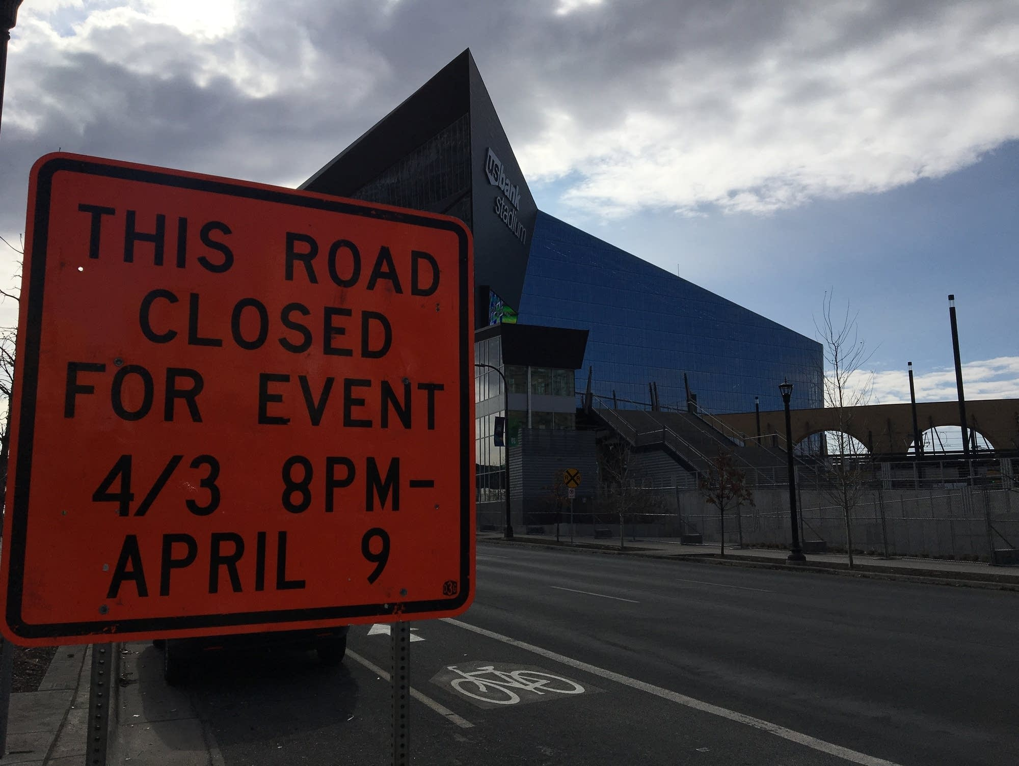 Road closures and restrictions for the Final Four games.