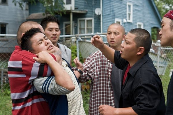 A scene with actor Bee Vang from Robbinsdale