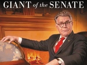 Cover for Al Franken's new memoir.
