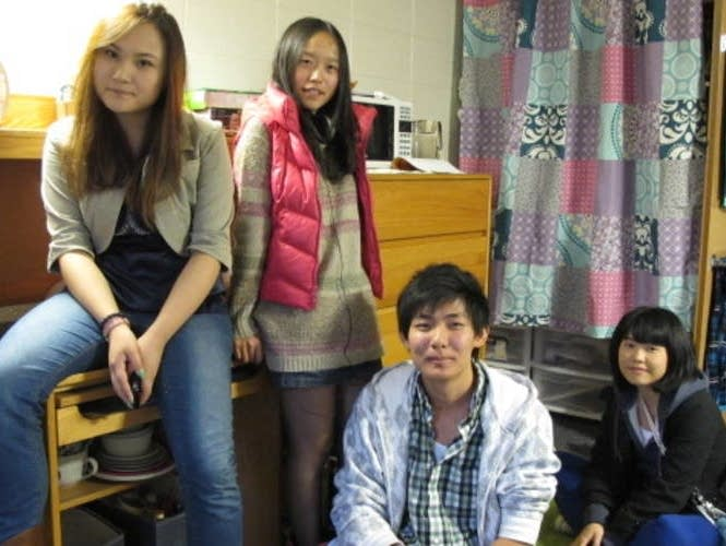 Chinese students at UW-Stevens Point