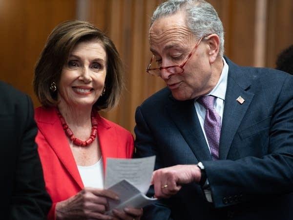 House Speaker Nancy Pelosi and Senate Democratic Leader Chuck Schumer