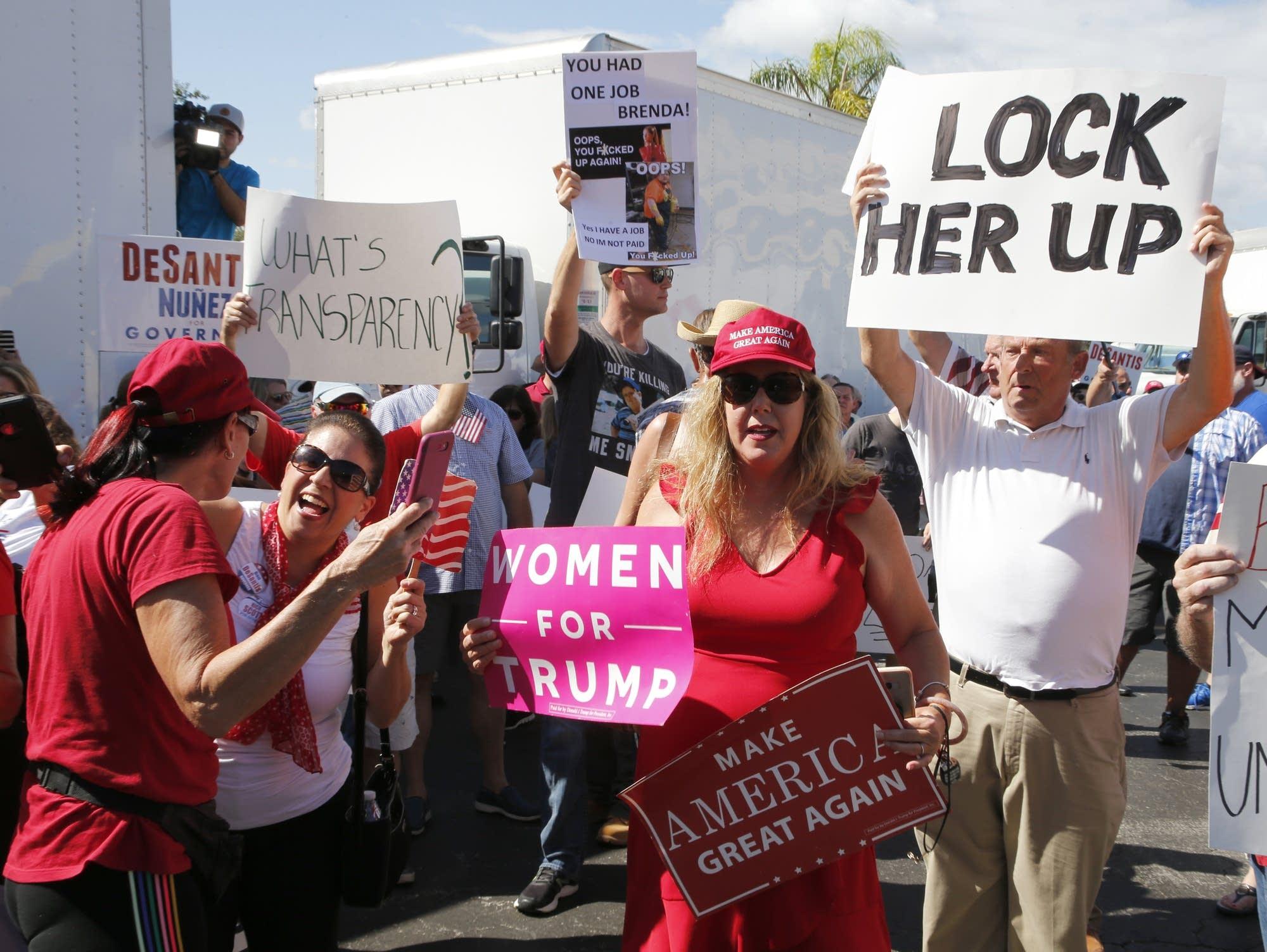 Florida election protest