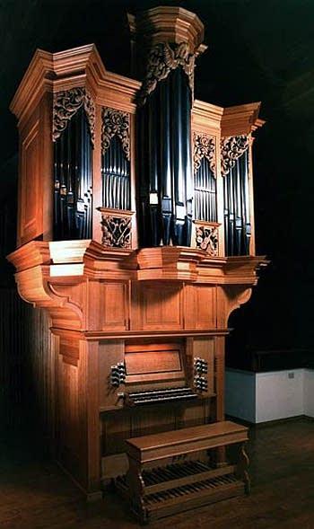 1992 Fritts organ, Opus 13, at Grace Lutheran Church, Tacoma, Washington