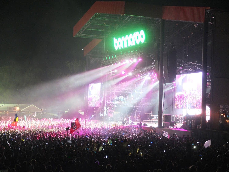 Kendrick Lamar performs at Bonnaroo