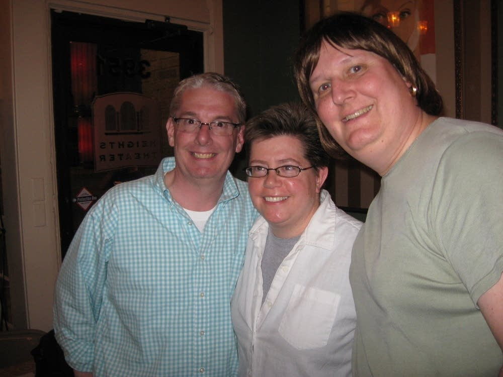 Todd Masman, Anne Phibbs and Anne Hodson