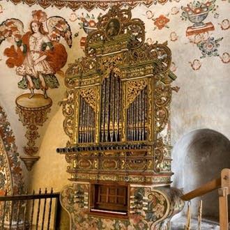 1729 Anonymous at the Church of San Jeronimo, Tlacochahuaya, Oaxaxa, Mexico