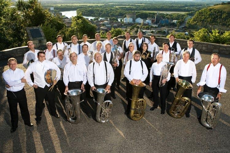 sheldon theatre brass band red wing minn