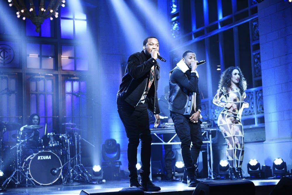 Meek Mill on 'Saturday Night Live'