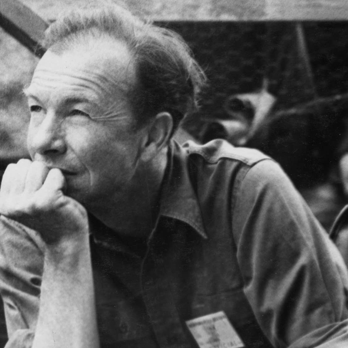 Pete Seeger photo by Diana Davies