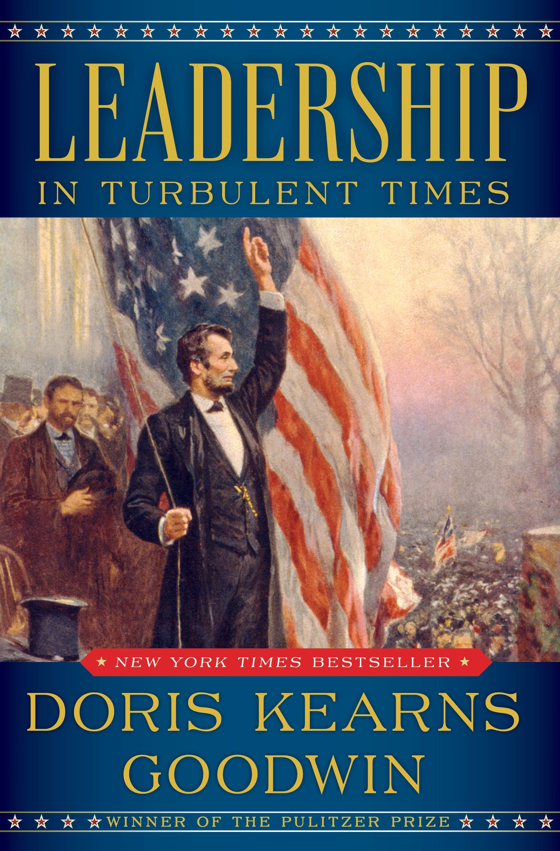 Leadership in Turbulent Times book cover