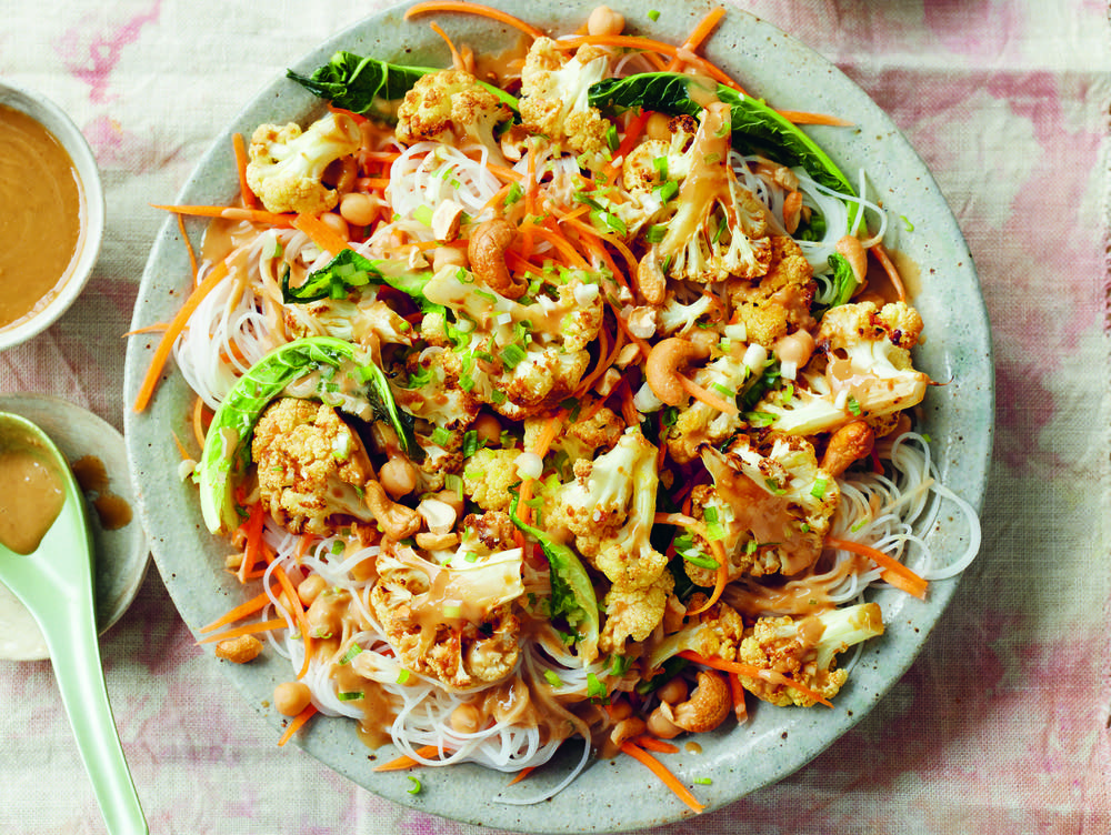 Miso-Roasted Cauliflower 