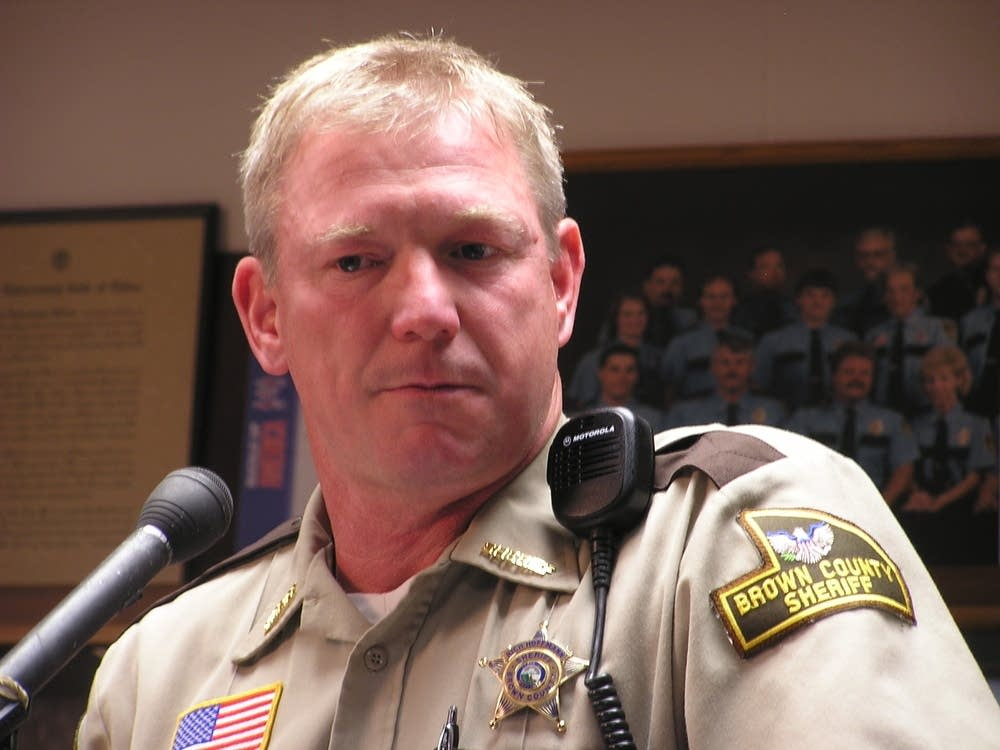 Brown County Sheriff Rich Hoffmann