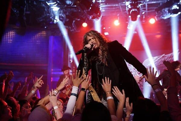 Aerosmith performs on 'The Tonight Show Starring Jimmy Fallon'