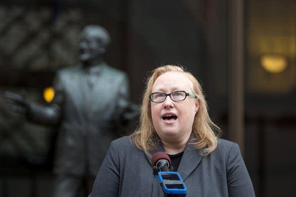 ACLU legal director Teresa Nelson