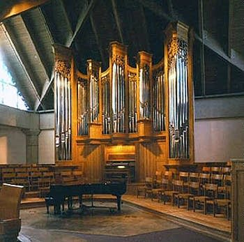 1992 Bedient organ at Saint Rita Catholic Church, Dallas, TX