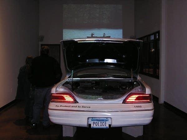 Two men in a trunk
