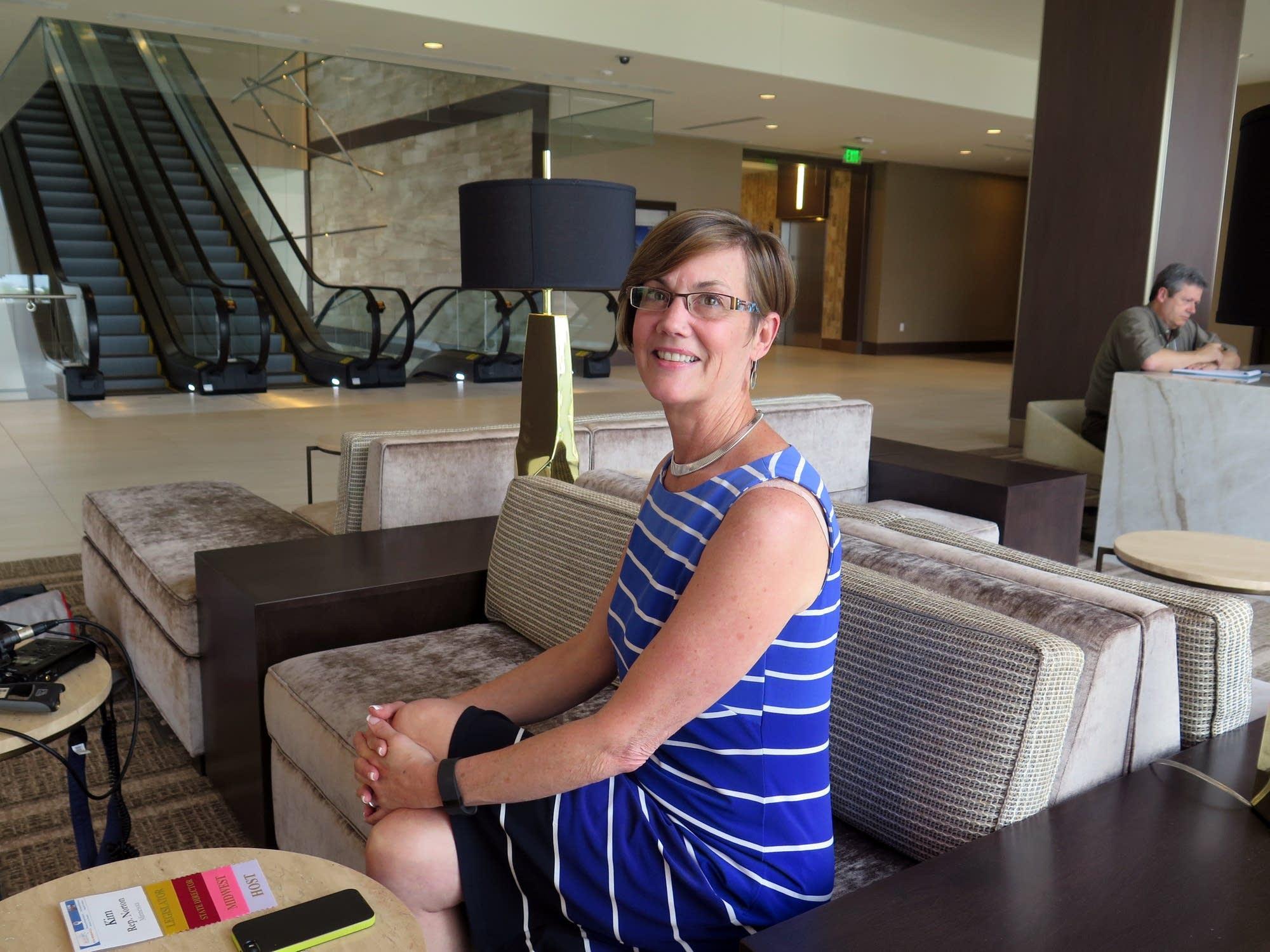 DFL Rep. Kim Norton of Rochester is retiring.