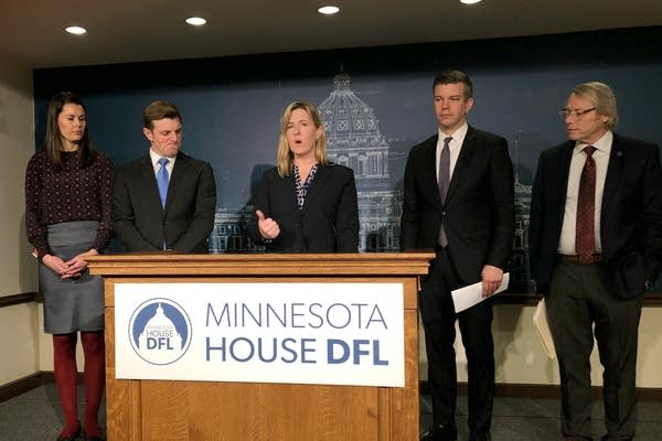 Minnesota House Speaker Melissa Hortman, other Democratic House leaders